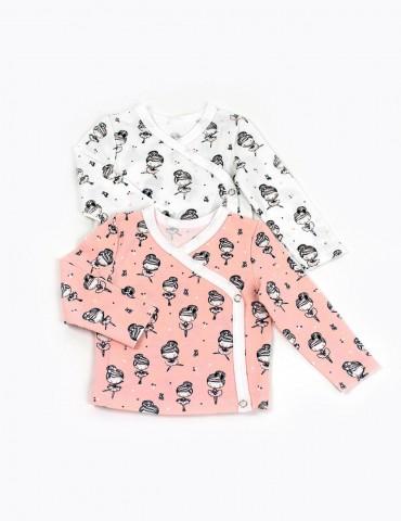 Set bluze fete kimono
